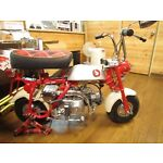 Motorbike parts of Japan