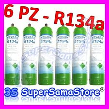 3S N°6 BOMBOLE RICARICABILI GAS REFRIGERANTE R134A PESO NETTO TOTALE 5,4 Kg