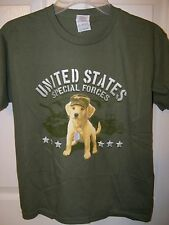 Unites States Special Forces  Short Sleeve Shirt Boys Size 10 / 12  Medium NWT