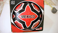 MEXICO Soccer Ball Futbol Size 5 Official Product  Red-Black-White Authentic NEW