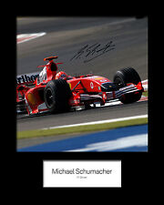MICHAEL SCHUMACHER #1 Signed Photo Print 10x8 Mounted Photo Print - FREE DEL