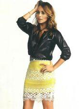 """SASS & BIDE   """"Definitely Love"""" Crochet Skirt, Slip & Belt - Size 6 - $490"""