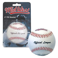 "9"" Midwest Official League PVC Baseball ball"