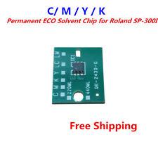 4PCS Generic Permanent ECO Solvent Chip for Roland SP-300I C / M / Y / K 4COLOR