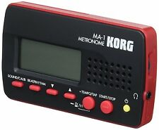 KORG MA-1BKRD Compact Time Keeping Metronome Black And Red