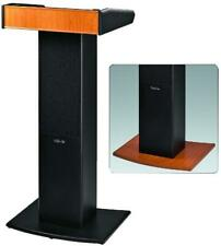 More details for active lectern with integrated uhf receiver, 36w rms - monacor