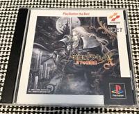 Castlevania Symphony of the Night  Sony Playstation 1 PS Japanese Used Konami