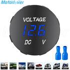 12v24v Led Digital Voltmeter Voltage Meter Battery Gauge For Car Boat Motorcycle