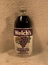 Welch's Sparkling Grape Soda 6-pack Vintage Cans Pull Tab