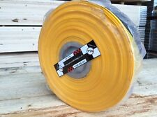 500m Scaffold Sleeving Yellow and Black Hazard Sleeve High Vis £46.00 + vat