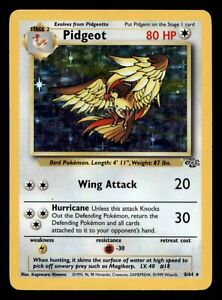 Pokemon Card - Pidgeot - 8/64 - Holo Unlimited Jungle