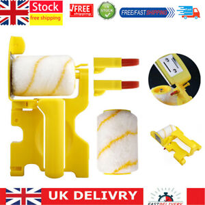 Multifunctional Clean-Cut Paint Edger Roller Brush Set for Home Wall Ceilings UK