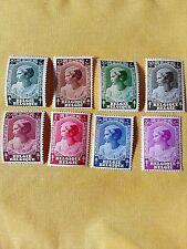 POSTZEGELS - STAMPS - TIMBRE BELGIQUE - BELGIE JAAR 1935 NR.458/65 *  (ref.794)