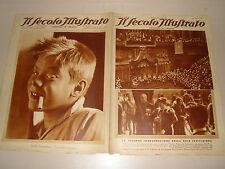 IL SECOLO ILLUSTRATO=5 MAGGIO 1934=MONTECITORIO=VENEZIA PIAZZALE ROMA=TOPOLINO