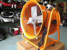 400mm Industrial fume extractor ventilator fan for spray paint workshop dynotune