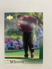 New listing TIGER WOODS 2001 UPPER DECK ROOKIE #1 GOLF CARD