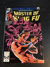 Master Of Kung Fu#101 Incredible Condition 9.0(1981) Mike Zeck Art!!
