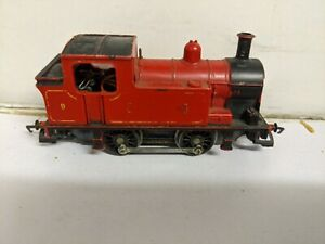 """Triang/Hornby L4  0-4-0T RED TANK LOCO """"Polly""""  as seen."""