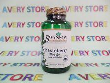 Swanson Chasteberry Fruit 400 mg 120 capsules