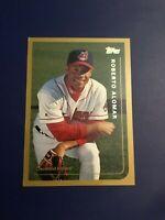 1999 Topps # 248 ROBERTO ALOMAR Cleveland Indians Baseball Card Look !