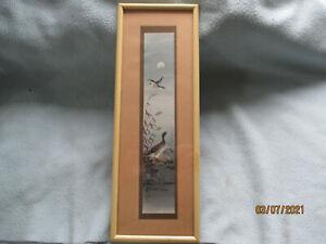 Original Japanese Woodblock Matsumoto Studio, Handpainted  Panel 1900 - 1940