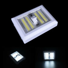 4* COB LED Light Switch Wall Night Lights Battery Operated Closet Lamp ``