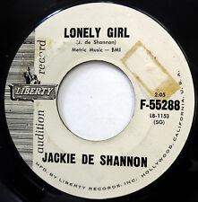 JACKIE De SHANNON Teen pop Liberty 45 Lonely Girl / Teach Me PROMO 1966 F2822