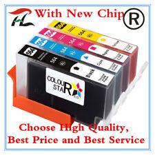4 HP 564XL Ink Cartridges Photosmart 3070/5510/5520/6510/6520/7510/7520 Printer