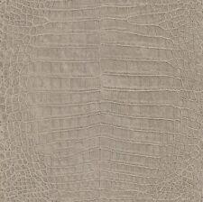 Rasch Vliestapete Krokodil braun beige Metrallic Mandalay 474138 (2,53€/1qm)