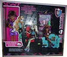 Monster High poupée Clawdeen Wolf + set Le café Coffin Bean Coffee House NEUF