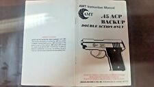 Amt Backup 45Acp Owners Manual