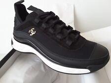 NIB 2020 Chanel Sneakers Black 39.5 size