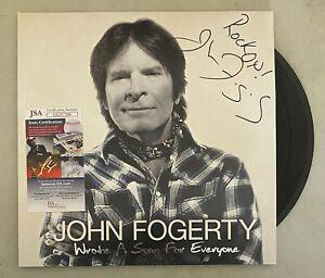 "John Fogerty CCR CREEDENCE Signed Autograph ""Wrote A Song"" Album Vinyl LP JSA"