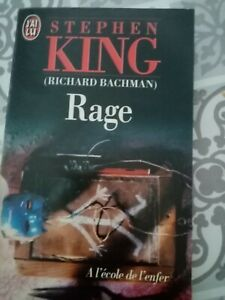RAGE de STEPHEN KING, rare, bon état