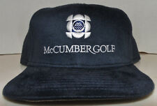 Mark McCumber Golf Academy New Era Brand PGA Fitted Cap Hat Size 7 3/4 USA