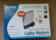 D-Link DCM-202 High-Speed DOCSIS 2.0 USB and Ethernet Connectivity Cable Modem