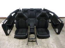 Audi S6 4G Leder Ausstattung Innenausstattung Sitze Rauten Waben A6 helle Naht