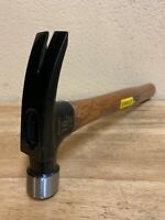 16 Oz New Stanley Wood Handle Claw Hammer,noSTHTS 1340