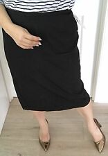 Mirrors Women Womens Skirt Lined Black Work Calf Lenght Sz 20