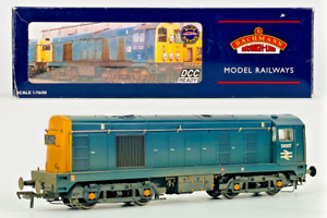BACHMANN 00 GAUGE - 32-032 - CLASS 20 DIESEL D8307 BR BLUE (WEATHERED) BOXED