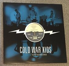 COLD WAR KIDS Live Third Man LP 12-12-10 Nathan Willett robbers cowards national