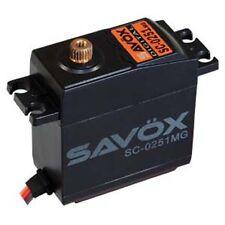 Savox SC-0251MG Larger Standard Digital High Torque Metal Gear Servo + 2 Horns