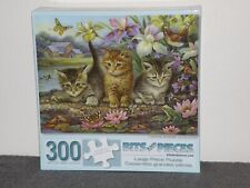 "Bits and Pieces 300 Pc Puzzle ""Curious Kittens"" by Oleg Gavrilov"