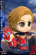 Hot Toys Captain Marvel w/ Nanogloves COSB680 Model COSBABY Mini Figure Toy