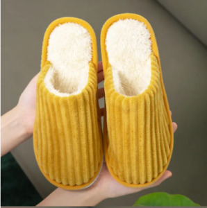 Mom Winter Women Warm Mules Casual Slippers Soft Comfort Casual Home Slipper New