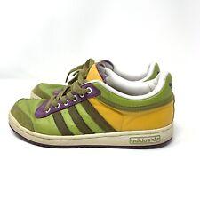 Adidas Top Ten Lo Men's Size 8 Basketball 058247 Green Ventura Grape