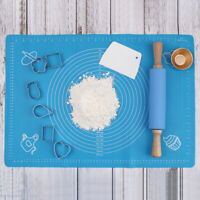 Non Stick Silicone Baking Mat Sheet Kneading Rolling Dough Pad 30X gtP`AU