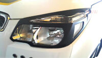 Holden Colorado RG 2012 - 2016 Z71 LTZ LT Matte Black Head Lights Cover Trims 15