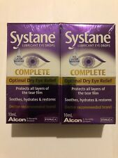 Systane Lubricant Eye Drops Complete Optimal Dry Eye Relief Hydrates and Restors