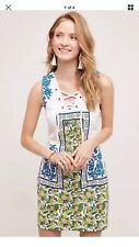 104. Anthropologie Tybee Shift Dress by Plenty Tracy Reese Sz S $168